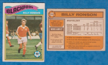 Blackpool Billy Ronson 288